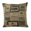 Vintage Wine Cushion