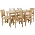 Canada Dining Set Table with 6 Chairs