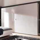 Chiraz by Welle Mobel - 2 Door Night Sky Medium Sliding Wardrobe