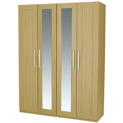 Lucia Tall 4 Door Wardrobe with Mirror : Lucia20420Door20Tall 500x500 from trade.4ff.co.uk size 500 x 500 jpeg 30kB